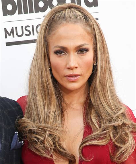 jlo hairstyle 2014 jennifer lopez long straight formal hairstyle light