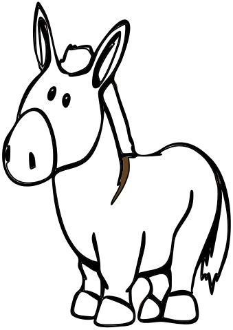 File:Donkey cartoon 05.svg - Wikimedia Commons