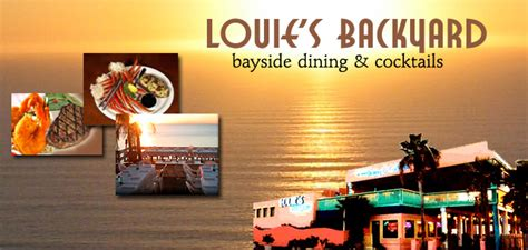 louie s backyard spi south padre island restaurants fresh seafood mexican
