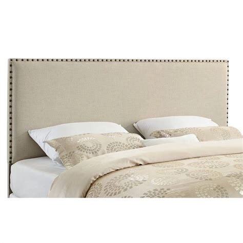 king panel headboard king panel headboard in natural 881001nat01u