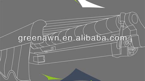 retractable awning gearbox retractable awning gear box for crank awning parts for manual with awning gear box