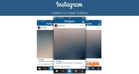 instagram layout app not working free instagram home screen psd layout on behance