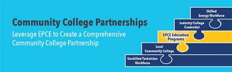 Academic Partnership Mba by Community College Partnerships Epce
