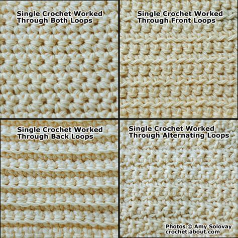 master the single crochet sc stitch with this helpful