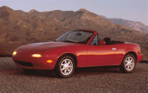mazda convertible 90s used 1990 mazda mx 5 miata convertible pricing features