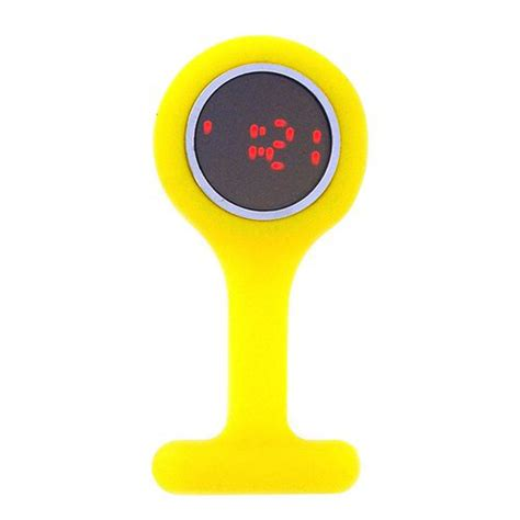 boxx led digital yellow rubber infection nurses
