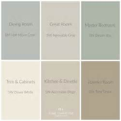 color palettes for home whole house color palette home colors