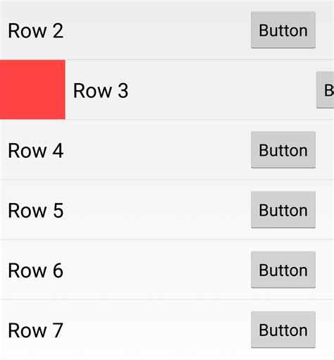 android studio right to left listview stack overflow android new inbox app style listview with swipe left and