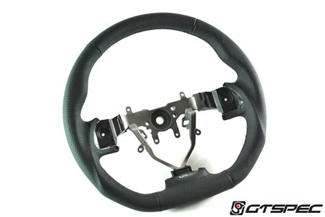 subaru sti 2011 black gtspec d shaped steering wheel for 2008 2011 subaru