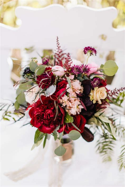 September 3 Wedding Centerpieces Silk Flowers by Bouquets Photos Wine Colored Bouquet Inside Weddings