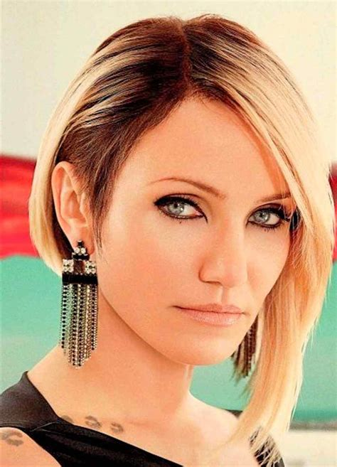 a symetric hair cut round face asymmetric bob hairstyles for round faces dressups