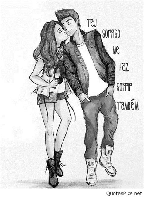 couples in love drawings cute cartoon love couple drawings images pics