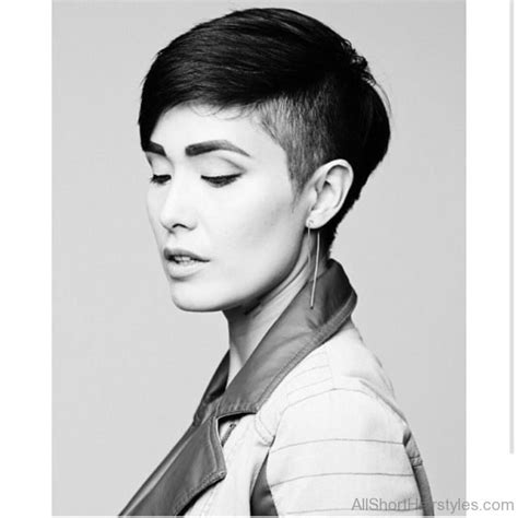 partially shaved hairstyles hairstyles 70 cool short undercut hairstyles