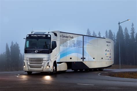 where are volvo trucks made volvo concept truck made more frugal with hybrid powertrain