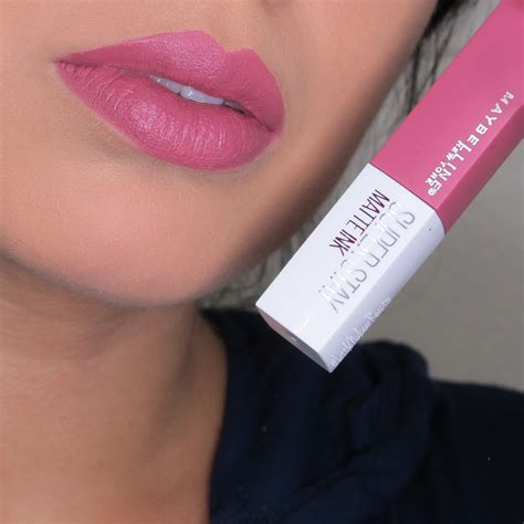 Toner Maybelline maybelline superstay matt ink lipstick review