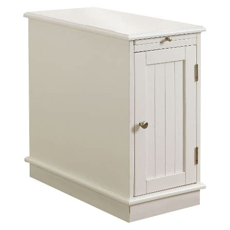 accent table with storage mibasics provence accent table with storage white target