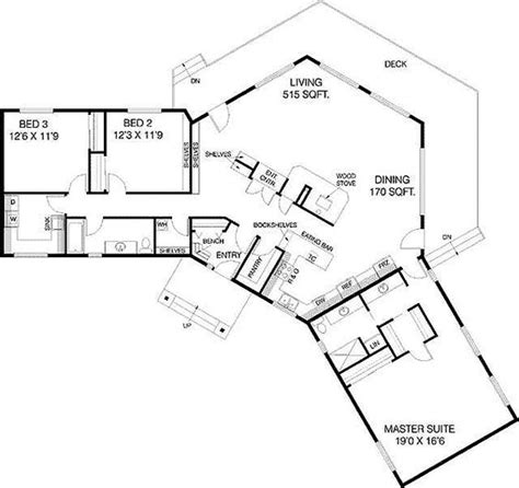 L Shaped House Plans With Courtyard Plan 77135ld C Shaped Floor Plan House Story And Pantry