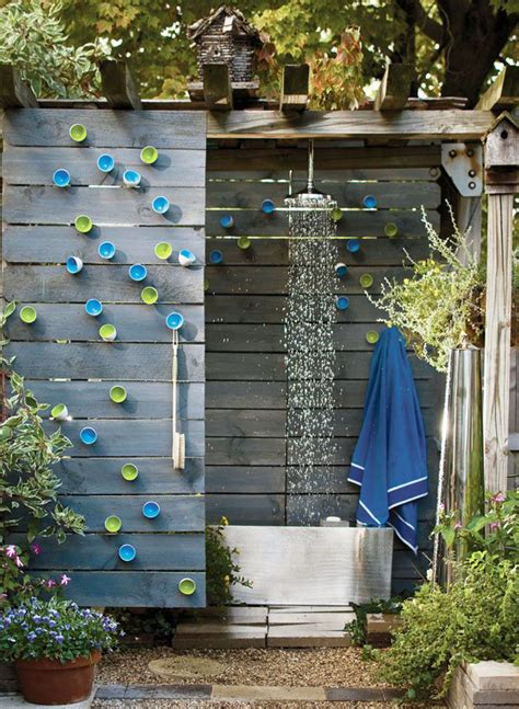 Garden Shower Ideas 20 Tropical Outdoor Showers With Peaceful Feeling Home Design And Interior