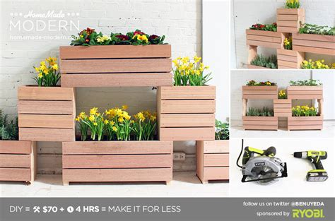 modern ep60 stackable planters