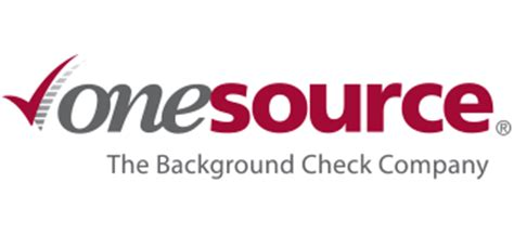 One Source Background Check One Source The Background Check Company