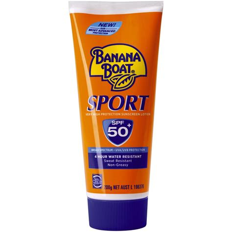 Sunscreen Lotion Banana Boat Spf 50 Banana Boat Sport High Protection Sunscreen Lotion