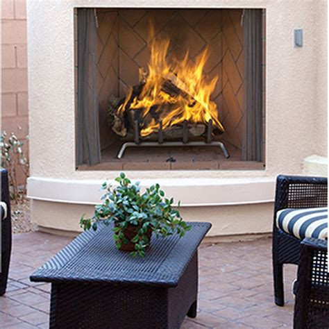 Outdoor Woodburning Fireplace by Ihp Superior Wre6800 Purefire Outdoor Wood Burning Fireplace