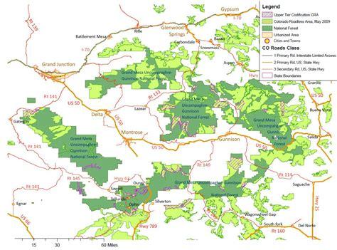 national forest map colorado colorado deserves more maps