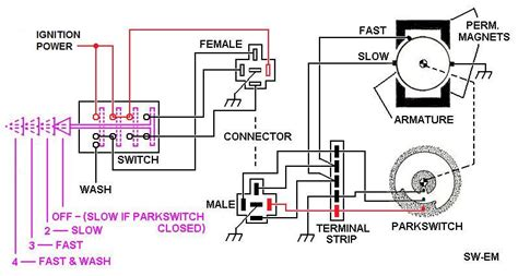 mopar wiper motor wiring diagram wiring diagrams
