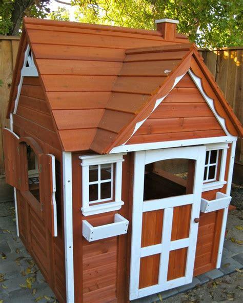 cedar playhouse from costco playhouse