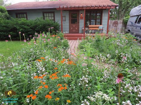 naperville project curb appeal wildlife habitat storm water management recycled materials