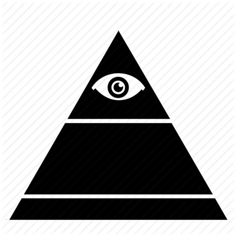 illuminati eye pyramid eye illuminati pyramid top triangle icon icon search