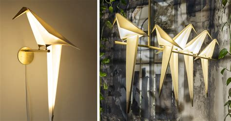 moving origami lamps  umut yamac