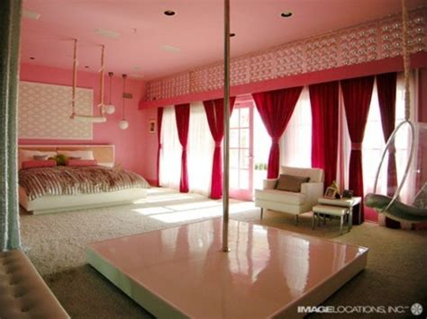 big pink bedroom wendyovoxo i want this ahh my dream room pole dancing