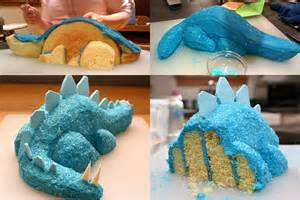 How To Make A Dinosaur Cake Template by The Sahmnambulist Birthday Cake Fail 2012