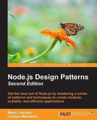 design pattern node js node js design patterns second edition 豆瓣