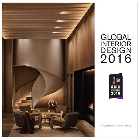Interior Design Of Fame Awards 2016 by Sbid International Design Awards Book 2017 International
