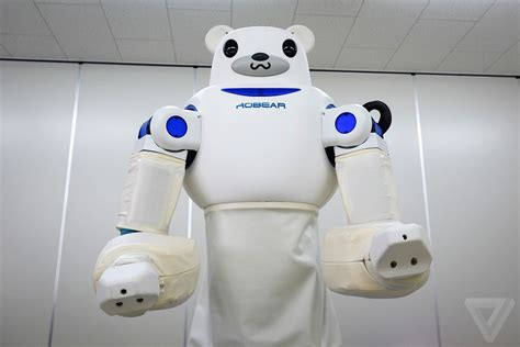 Vs Machine Robots At Japanese Hospital by This Cuddly Japanese Robot Could Be The Future Of
