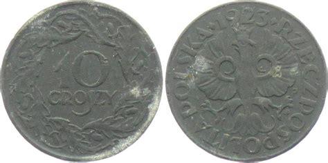 polnische möbelanbieter 10 groszy 1923 generalgouvernement besetzte polnische