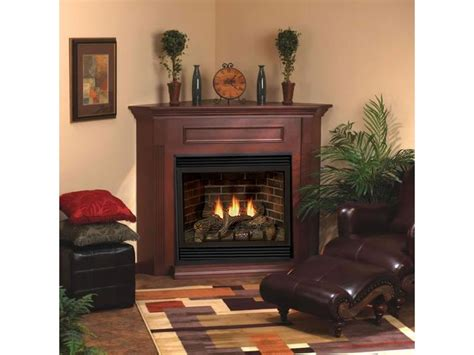 corner direct vent tahoe deluxe 32 fireplace complete