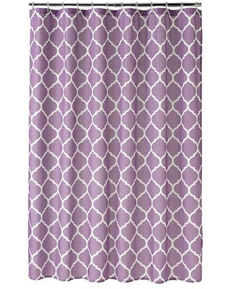Trellis Fabric Curtains Purple Shower Curtains Decor By Color