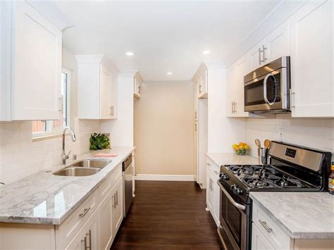 Bathroom Remodel Ideas Small Master Bathrooms flip or flop revamped all white contemporary kitchen hgtv