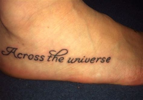 across the universe tattoo beatles mine tattoos
