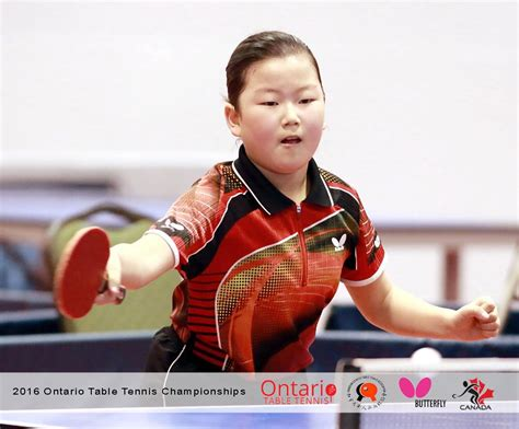Topspin Table Tennis by Topspin Players At Ontario Chionships Topspin Table