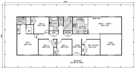 simple 5 bedroom house plans best of simple 5 bedroom house plans new home plans design