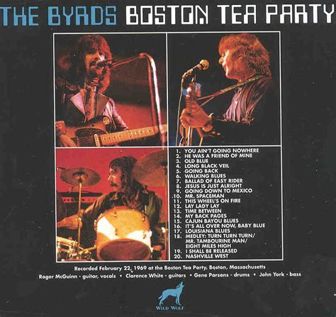 byrds cd boston tea party