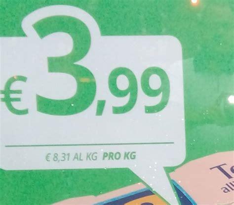 di commercio abbreviazione indicazione prezzo per unit 195 di misura di