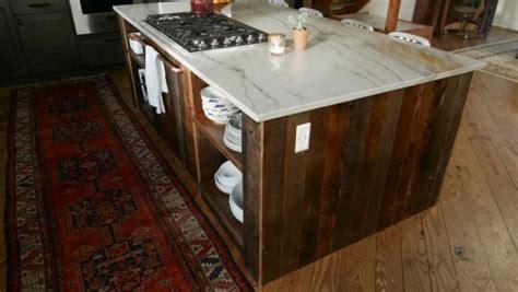 barnwood kitchen island how to build a barnwood kitchen island diy