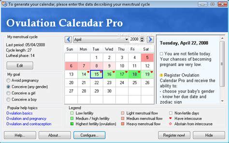Ovulation Calendar Ovulation Calendar Pro
