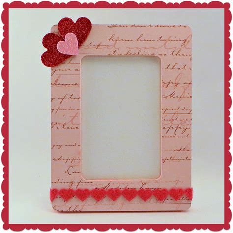 Paper Frame - crafty in crosby scrapbook paper covered frames