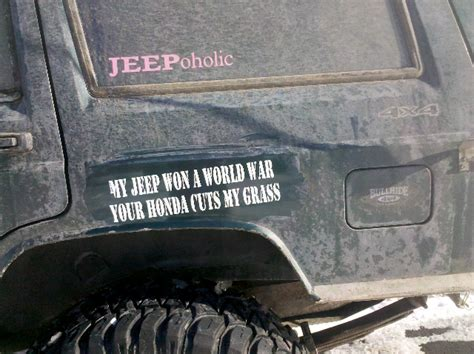 jeep bumper stickers bumper stickers jeep cherokee forum